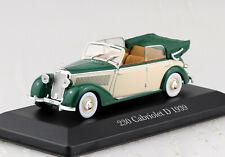 Mercedes 230 Cabriolet D 1939 1:43 Atlas Modellauto