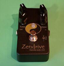Hermida Audio Zendrive Black Magic Overdrive Lovepedal Guitar Effect Pedal + Box