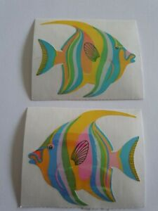 Vintage Sandylion Sticker 2 Peaely Fische