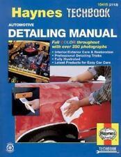 Automotive Detailing Manual Haynes Repair Manuals