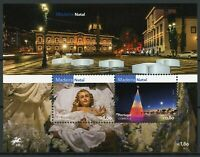Portugal Cultures Stamps 2016 MNH Christmas in Madeira Festivals Nativity 2v M/S