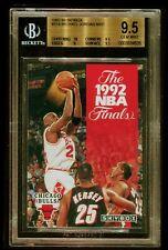 1992/93 SKYBOX MVP MICHAEL JORDAN NBA FINALS BGS 9.5 GEM-MINT!!!