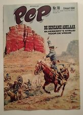 PEP  ** N°10  COUVERTURE GIR ( BLUEBERRY) **  MARS 1968