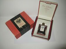 Sealed Cuir De Russie De Figene Parfum Grasse Vintage / Antique Perfume Bottle