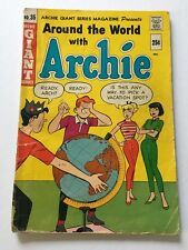 """Archie's Pals 'n' Gals  #35 1966 Silver Age FR1.5 """"Picking Vacation"""" Loose Cover"""