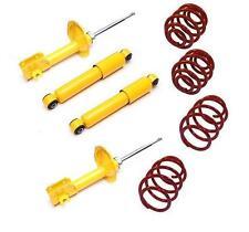 SUSPENSION KIT LOWERING SPRINGS SHOCK ABSORBER Fiat Punto Mk2 188 1999-2010