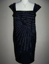 KM COLLECTIONS BY MILLA BELL Plus Size 20W Black Embellished Dress *NWT $159