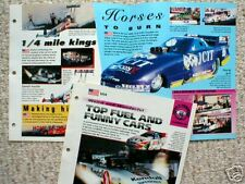 TOP FUEL & FUNNY CARS Brochure:FORCE,AMATO,PRUDHOMME,