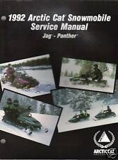 1992 ARCTIC CAT SNOWMOBILE JAG-PANTHER SERVICE MANUAL