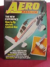AEROMODELLER AUGUST 1984 & MODEL AIRCRAFT MAGAZINE
