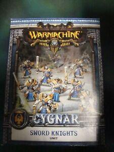 Warmachine-Cygnar-Sword Knights Unit-Privateer Press