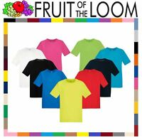 Mens Fruit of the Loom Performance T Shirt Wickable Breathable Sport Top 61390