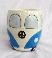 Volkswagen - V W Camper Van Ceramic Mug - Blue - BNIB