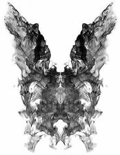 Framed Print - Psychology Donnie Darko Ink Blot (Picture Movie Medical Poster)