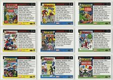2015 Marvel Avengers Silver Age silver parallel Set (100 cards) each card /100