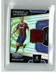 Miralem Pjanic  2020-21 Panini Chronicles Certified Patch /199 FC Barcelona