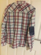 BOYS GUESS LONG Sleeve SHIRT Size20 (15Y~16Y) Very Stylish Design, Rare