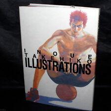 INOUE TAKEHIKO ILLUSTRATIONS ART BOOK NEW
