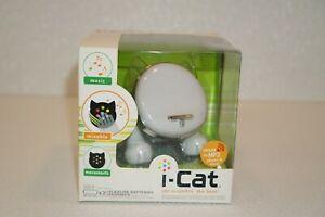 I-Cat 2006 White I-Cat MP3 Speaker Lights Music Movements New In Box Hasbro