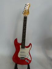 Falcon 6 String Electric Guitar Red Body Right Handed