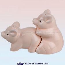Bonking Pigs Salt & Pepper Pots Ceramic Naughty Rude Party Gift
