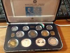 82m) REPUBBLICA ITALIANA - SERIE ITALIA DIVISIONALE MONETE ANNO 1991 _ PROOF