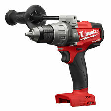 "New Milwaukee M18 Brushless FUEL 1/2"" Hammer Drill Driver With Clip # 2704-20"