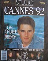 TOM CRUISE  CANNES 1992 FRENCH STUDIO Magazine MICHAEL DOUGLAS Many Many Stars