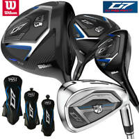 Wilson Staff D7 Men's Full Set Bundle (Driver, #3W, #4H, 5-SW) NEW! 2019