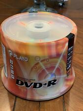 Playo DVD+R 60 Pack Professional Grade Recordable DVD's