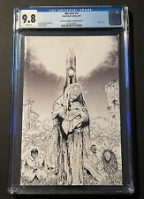 WE LIVE #1, CGC 9.8, WHITE PAGES, SKETCH EDITION, VIRGIN, 4TH PRINT, HIVE COMICS