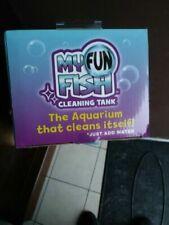 Self Cleaning Fun Fish Tank Small Aquarium Desktop Bowl as Seen on TV Gift