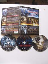 Terminators + Dragon Fury + Space Destructors, coffret 3DVD, SF/Action