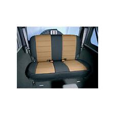 New Jeep Wrangler Tj 97-02 Rear Neoprene Seat Cover Tan  X 13261.04