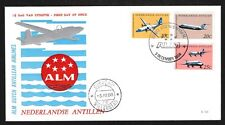 Netherlands Antilles # 315 A-C Air ALM FDC - I Combine S/H