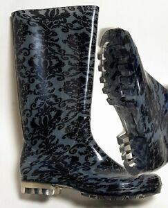 SEGUE Gummistiefel Regenstiefel Gartenstiefel Schuhe Stiefel Rain Boots Flower