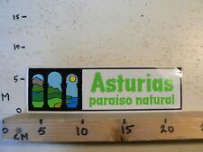 STICKER,DECAL LARGE STICKER ASTURIAS PARAISO NATURAL 24 CM
