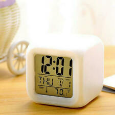 Alarm-Clock Color Changing-Night-Light Cute Led Student Digital Alarm Clock