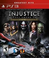 Injustice: Gods Among Us - PS3 (Ultimate Edition)