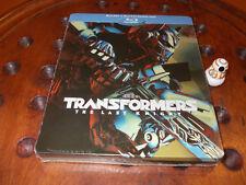 TRANSFORMERS: L'Ultimo Cavaliere - STEELBOOK EDITION 2  Blu-Ray ..... Nuovo