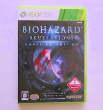 RESIDENT EVIL BIOHAZARD REVELATIONS Unveiled Edition  [ Capcom ] Xbox 360 Japan