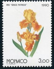 TIMBRE MONACO N° 1712 ** OSAKA 90 / EXPOSITION FLORAL / FLORE / IRIS