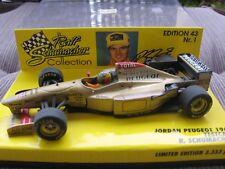 RSC Schumacher F1 Jordan Peugeot 196 TESTCAR 3.333 LIMITED 1:43 MINICHAMPS OVP!