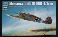 TRUMPETER 02293 - Messerschmitt BF 109 F-4 Trop - 1:32 Flugzeug Bausatz Kit Me