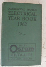 Vintage Book 1962 The Electrical Year Book Engineering Data Rules & Tables
