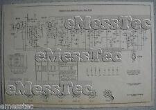 Metz tipo 304 W esquema eléctrico edición 2, stand 07/52
