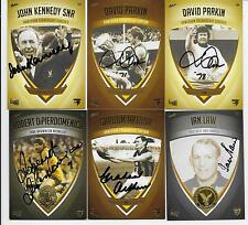 HAWTHORN HERITAGE 31 CARD INSERT SET / 250 ONLY / INCLUDES 7 CARDS SIGNED