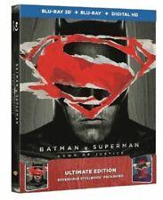 Batman V Superman Dawn of Justice Steelbook 2D/3D