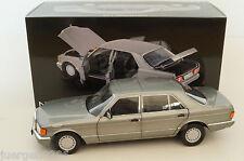 Mercedes-Benz 560 SEL Dark Grey met. 1985 Norev 1/18 MIB #183547