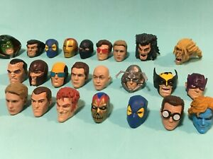 Marvel Legends Male Heads